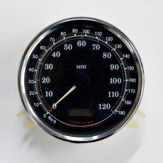 画像2: ハーレー専用マイル→キロメートル変換ステッカーメーターシール (2)