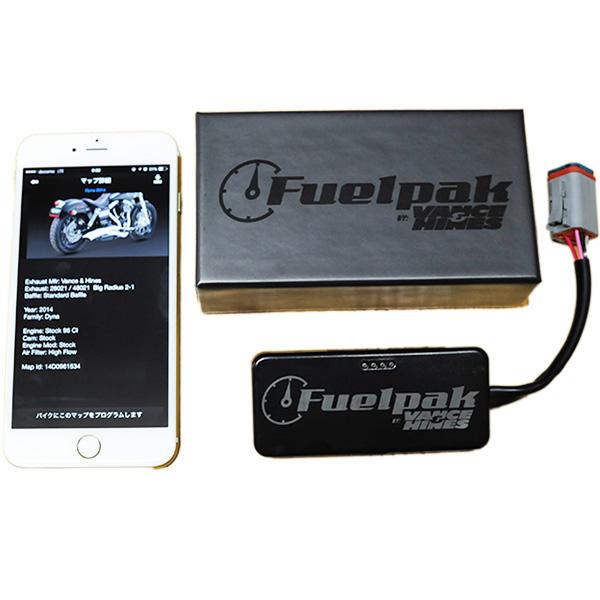 """画像1: スマホでECM書き換え!Vance&Hines ヒューエルパック3 Fuel Pak3 """"FP3""""  (1)"""