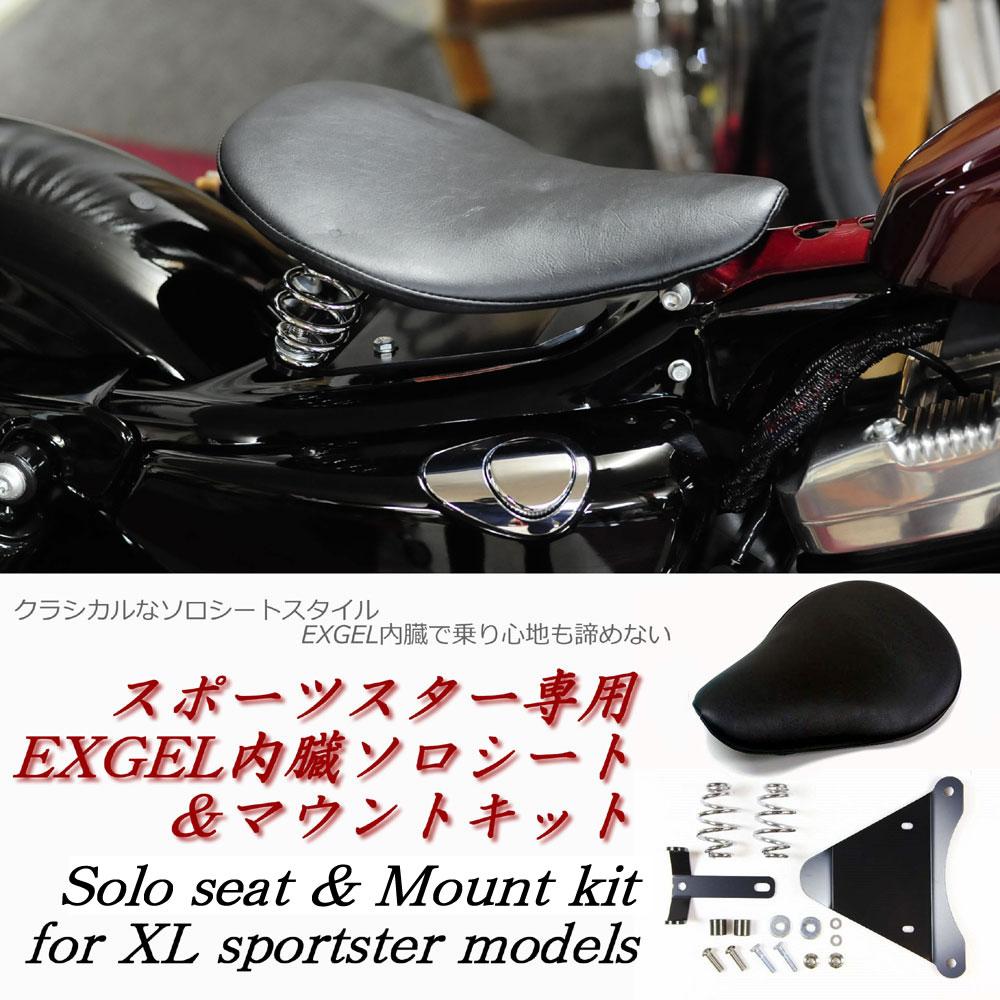 画像1: ≪送料無料≫XL用 EXGEL内臓ソロシート&マウントキット (1)