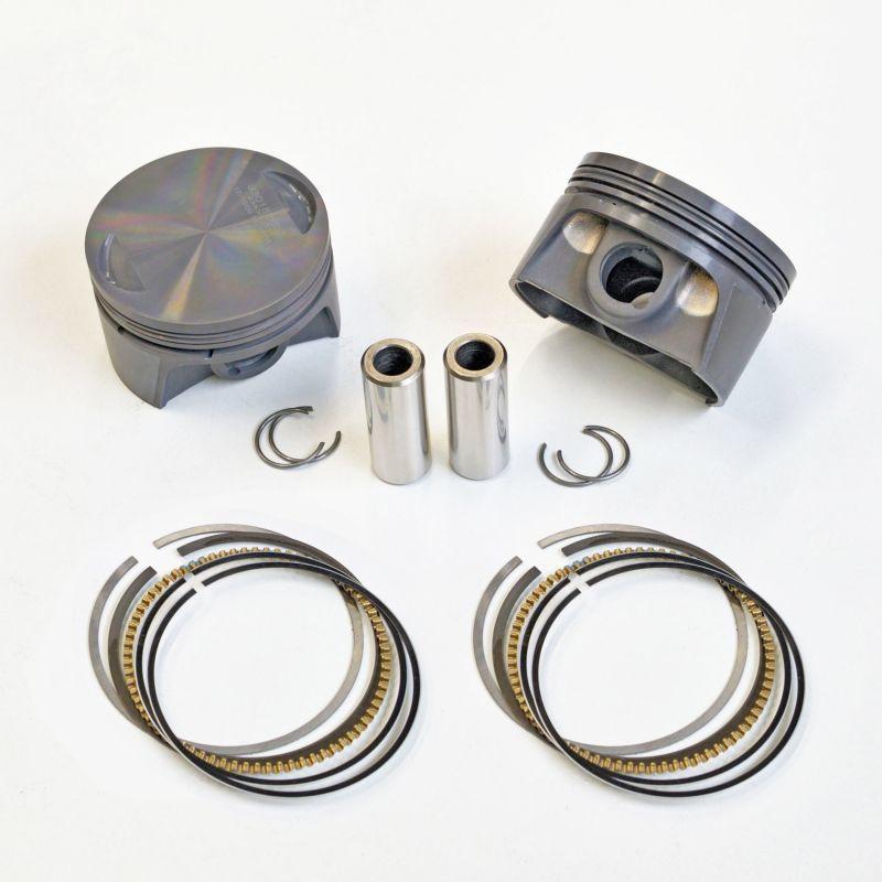 画像1: スポーツスター専用 MAHLE鍛造 1000ccピストンキット/Bore up piston  883cc →1000cc made by MAHLE (1)