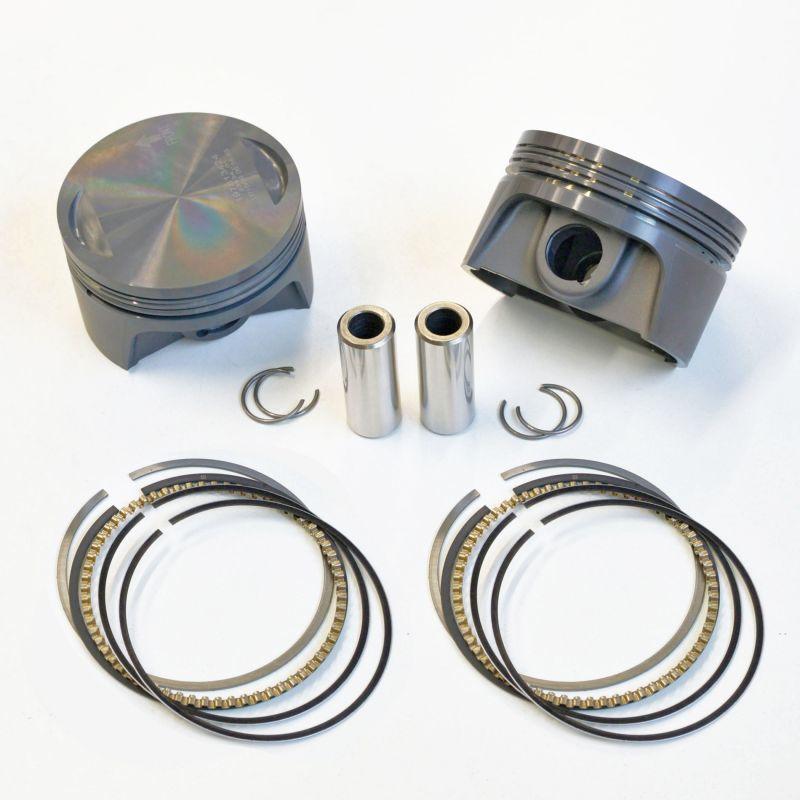 画像1: エボリューション BIGTWIN専用 MAHLE鍛造 オーバーサイズピストンキット/Oversize piston for Evolution Bigtwin1340. Made by MAHLE  (1)